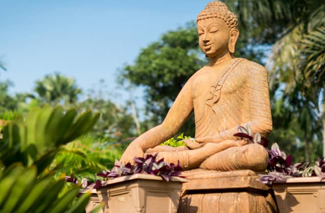 Buddha Statue at Toshali Sands