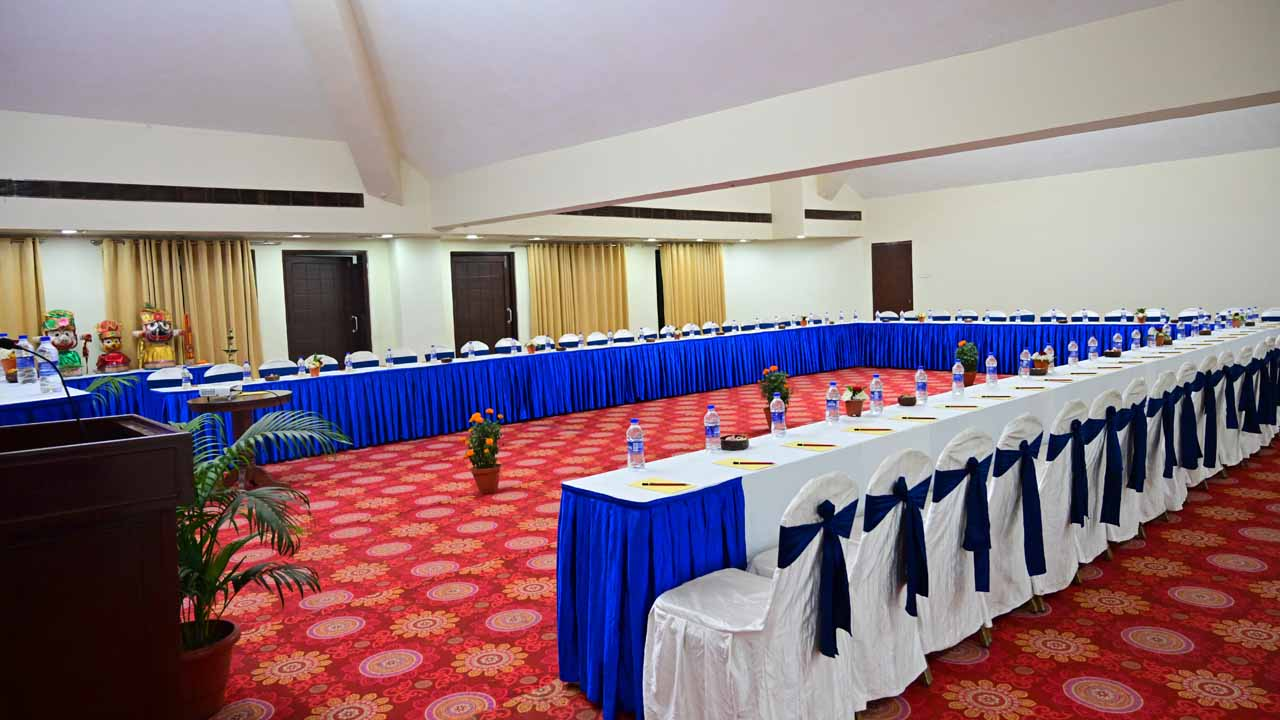 Conference hall at Puri