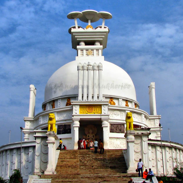 Dhauli Temple in Bhubaneswar