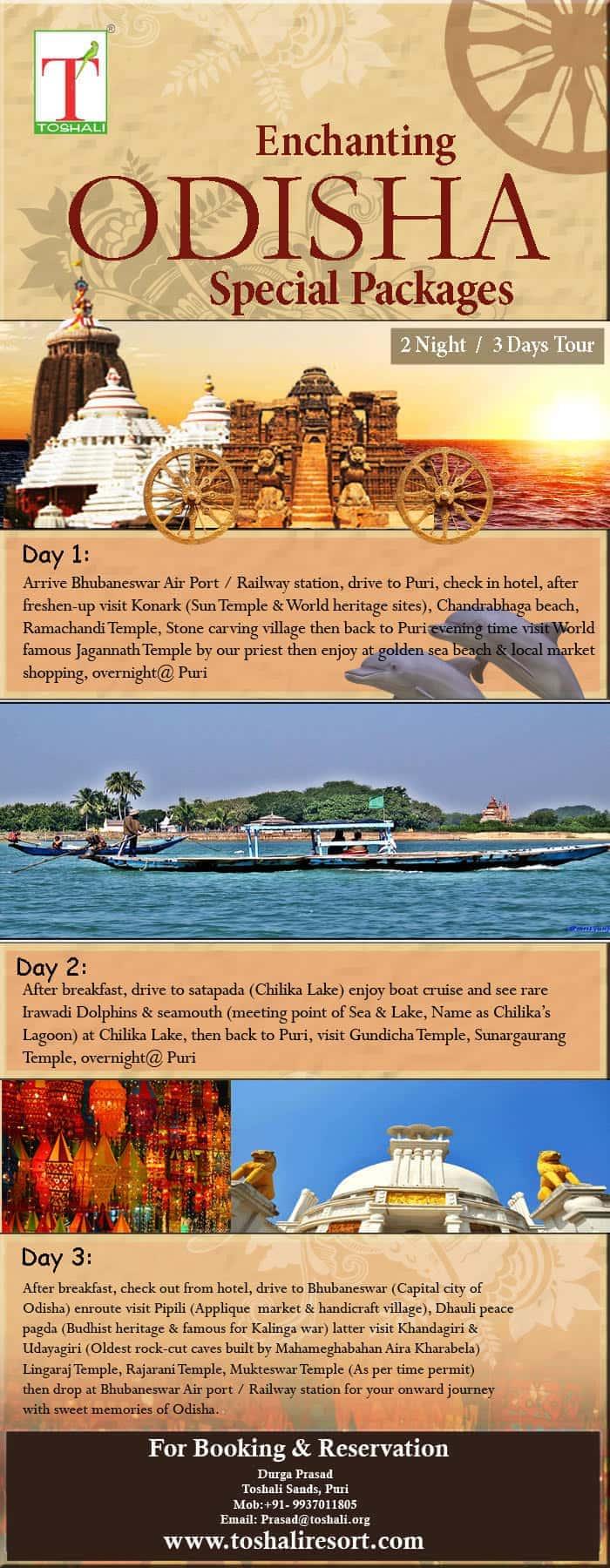 Enchanting of Odisha Tours