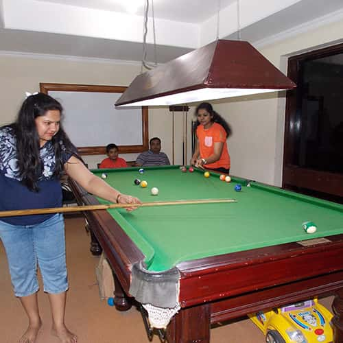 Indoor & Outdoor Games at Toshali Sands
