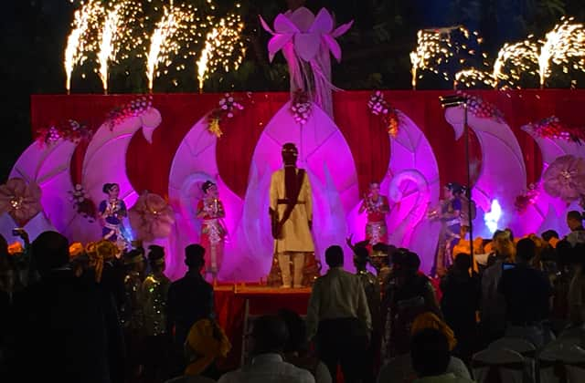 Wedding Stage Toshali Sands